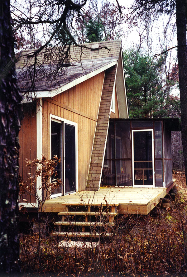 Murray Blackmore's cabin in northwestern Wisconsin